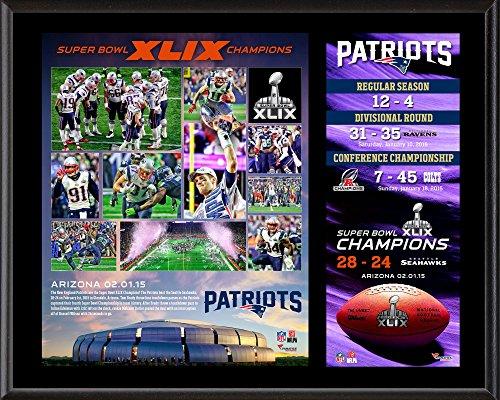 New England Patriots Super Bowl XLIX Champions 12