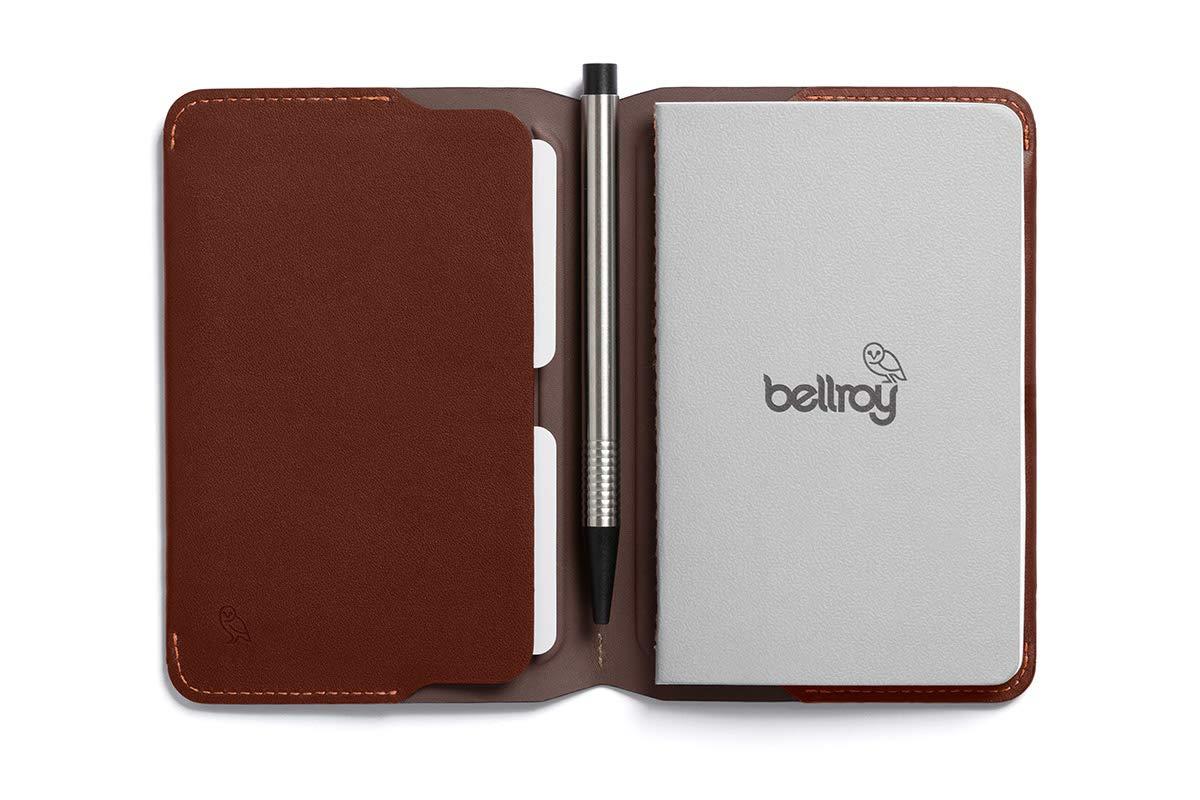 Cartera de piel Bellroy para hombre Notebook Cover Mini ...