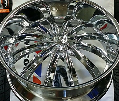 "28"" INCH BORGHINI BW19 WHEELS RIMS ONLY FIT CHEVY GMC"