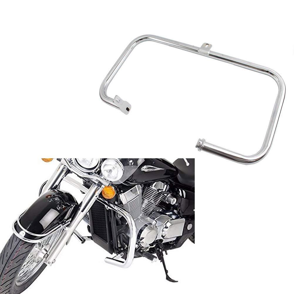 XX eCommerce Motorcycle Motorbike Chrome Highway Crash Bar Engine Guard 2004-2011 Honda Shadow Aero VT 750 750C