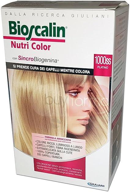Nutri color tinte para cabello n.1000ss platino: Amazon.es ...