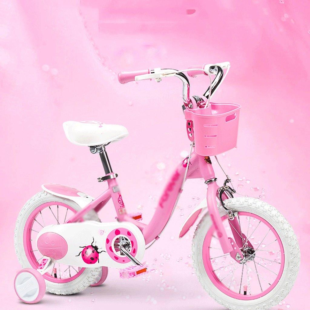 自転車 子供の自転車の女の子2-3-4-6-7-8-9-10歳の赤ちゃんのペダル自転車の子供の赤ちゃんのキャリッジ (サイズ さいず : 18 inch) B07DYHH6D7 18 inch 18 inch