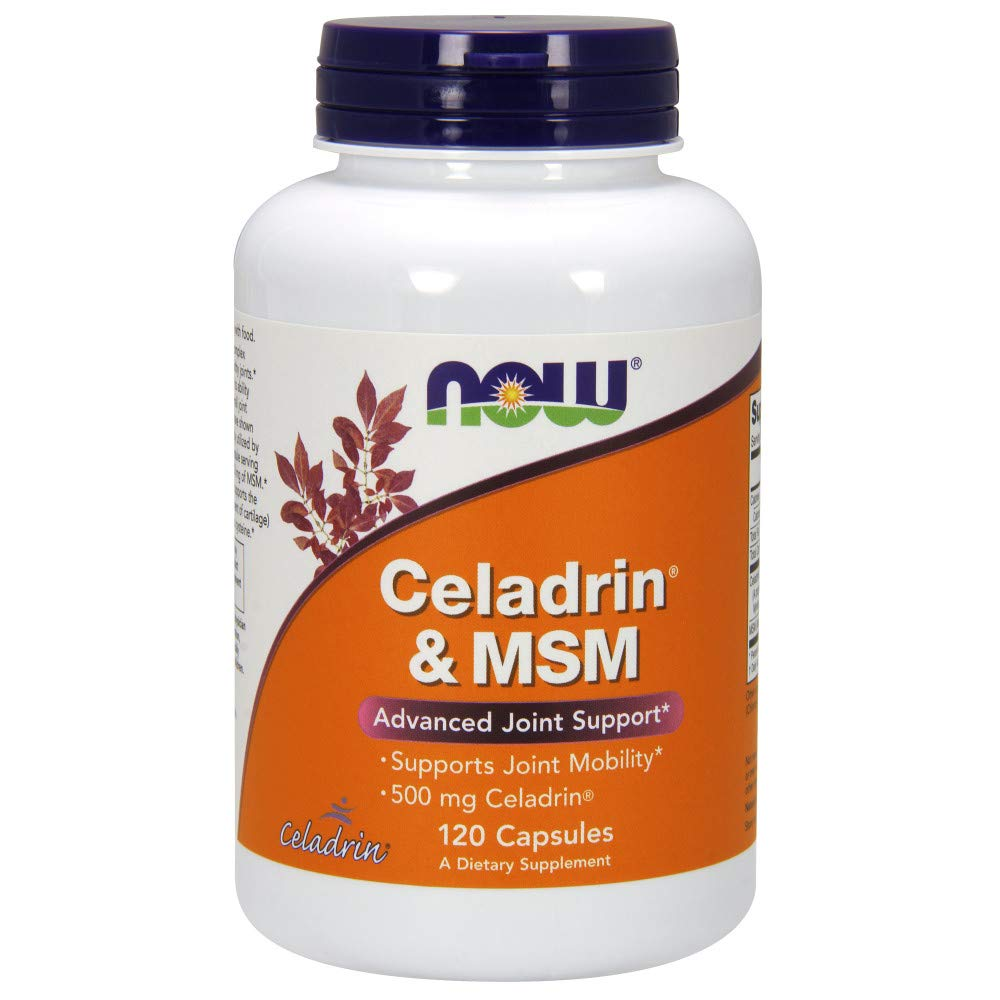 Now Supplements, Celadrin & MSM 500 mg, 120 Capsules