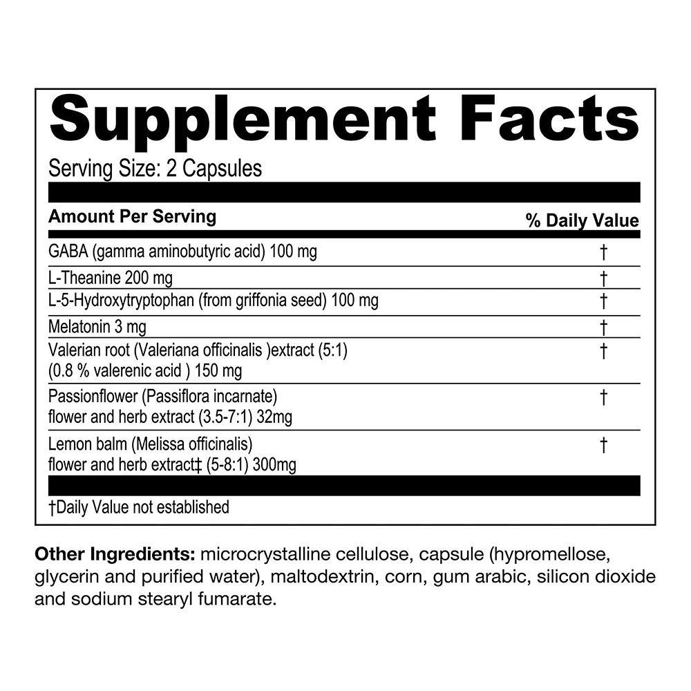Amazon.com: AOR Ortho Sleep 60 Vegi Capsules by Healthy Place: Health & Personal Care