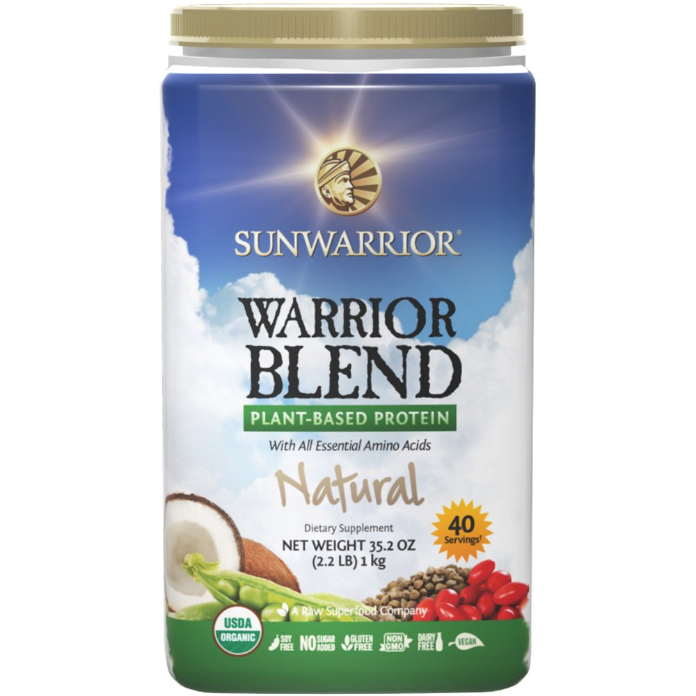 Amazon.com: Sunwarrior - Warrior Blend, Proteína bruta a ...