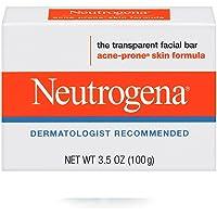 Jabón Facial En Barra Neutrogena Antiacné 100 g