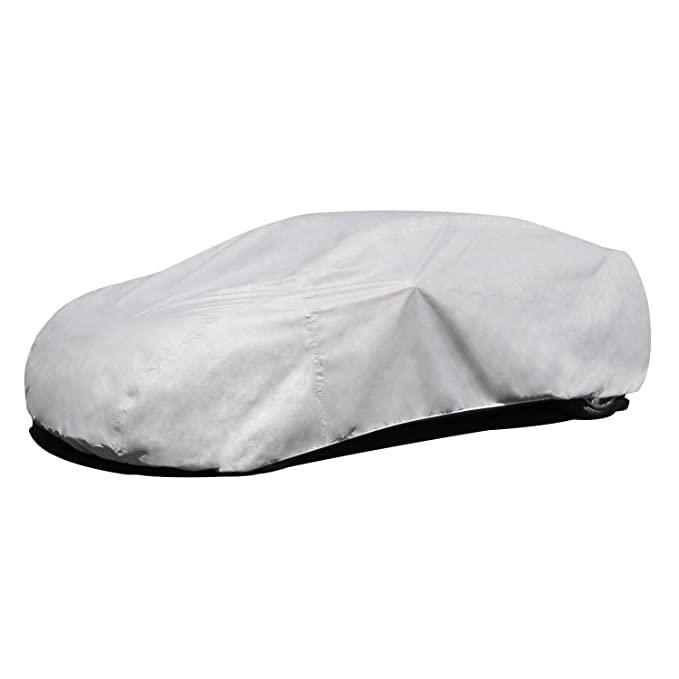 4dac259f720f6 Amazon.com  Budge B-5 Grey Size 5  Fits 22  Long Car Cover  Automotive