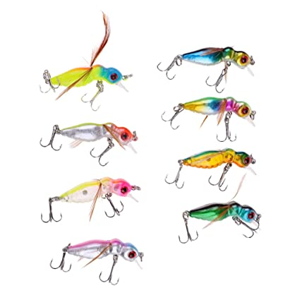 Glow Shrimps Soft Lure Baits 54Pcs 1.7in Grub Worms Small Shrimps Soft Lures