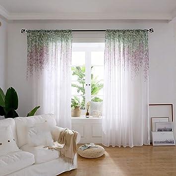 a437b554b7c Summer Tulle Curtains