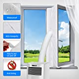 Window Seal for Portable Air Conditioner and Tumble Dryer,Window Venting for Mobile Air Conditioner Exchange Hot Air…