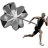 """Running paraguas, 56""""entrenamiento de velocidad resistencia paracaídas paraguas"""