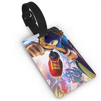 Amazon.com | Sonic The Hedgehog-Sonic Anime Luggage Tag Game ...