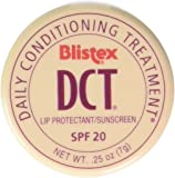 Blistex DCT Daily Conditioning Treatment SPF 20 0.25 oz (Pack Of 12)