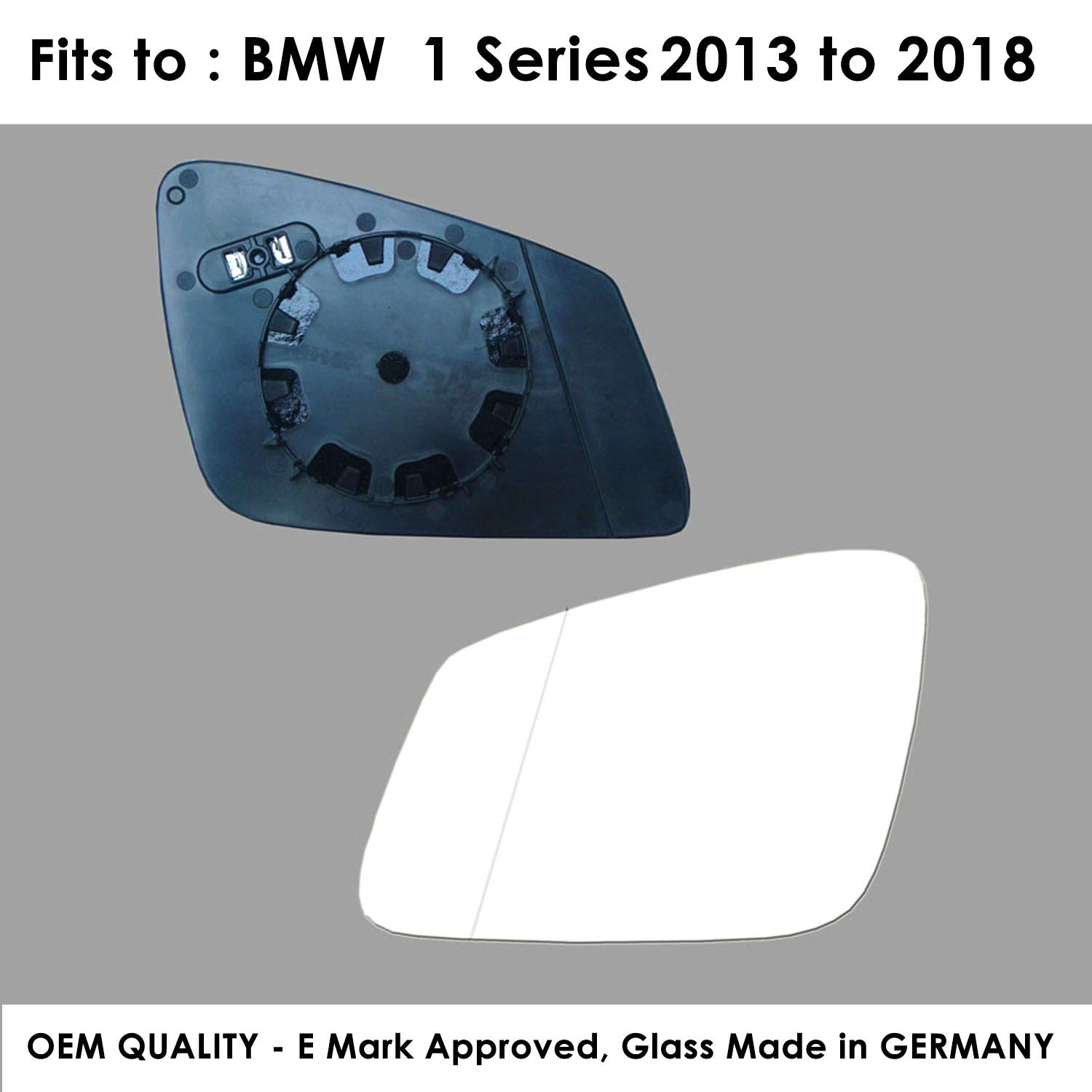 The Wing Mirror Company GL795-VT Door//Wing Mirror Glass RH Driver Side