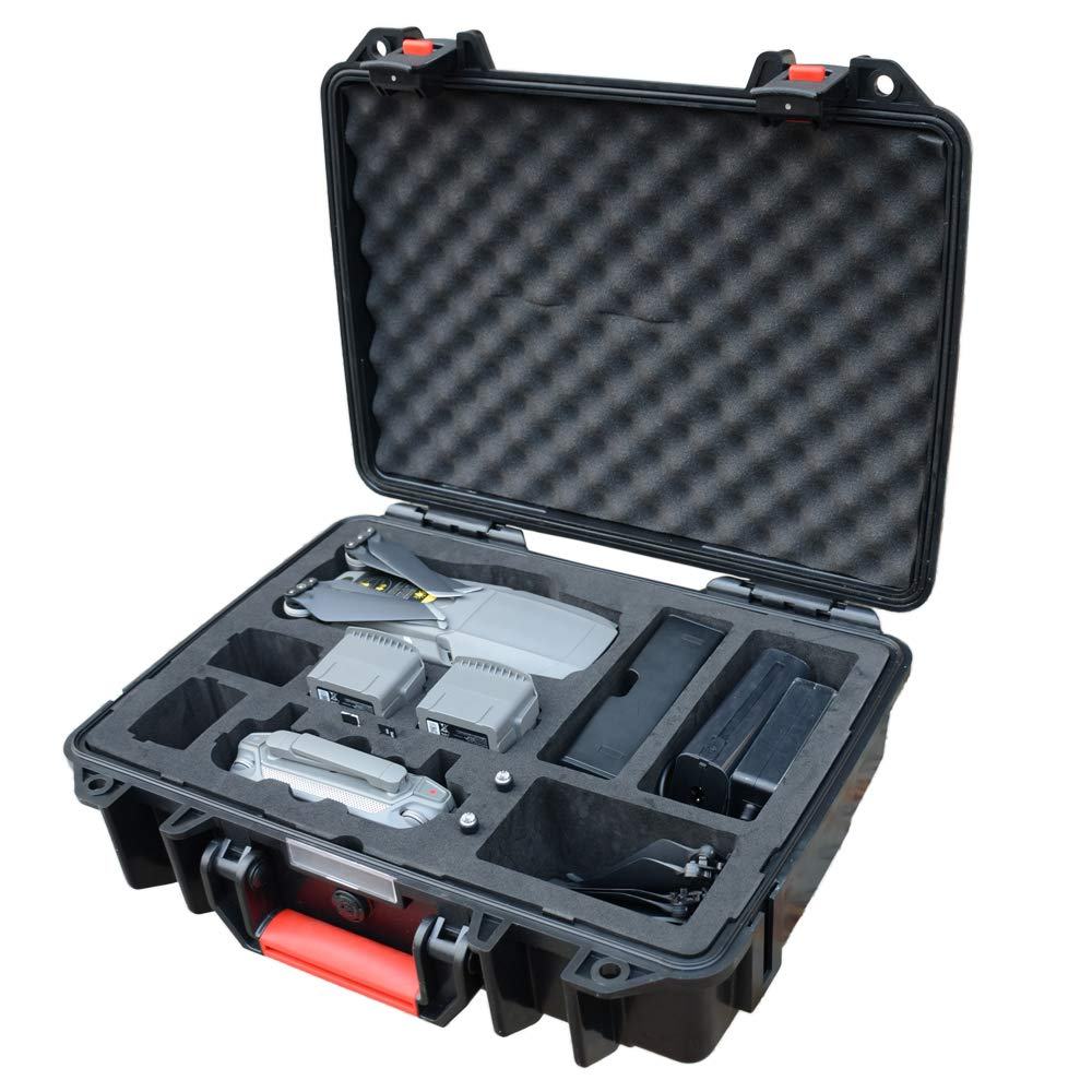 LEKUFEE Carrying Case for DJI Mavic 2 Drone, Waterproof Case Large Hard Case for DJI Mavic 2 Pro/Mavic 2 Zoom/Mavic 2 Enterprise Fly More Combo(Not fit for Mavic pro/Mavic Platinum)