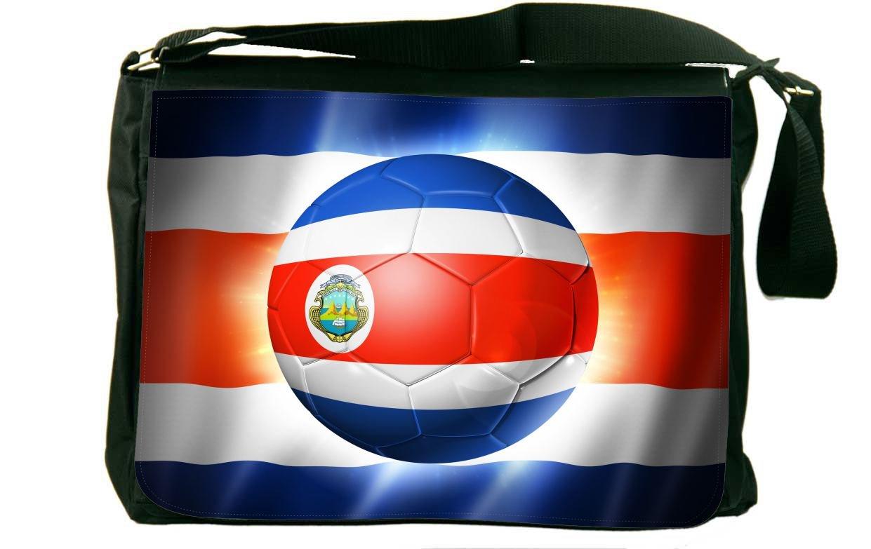ブラジルワールドカップ2014コスタリカフラグメッセンジャーバッグスクールバッグ B01IJPEIZU