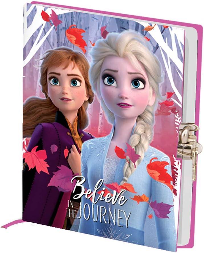Frozen Believe-Diario Serratura a Chiave