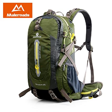 c57b84ce17e6 Maleroads Camping Hiking Backpack Sports Bag Outdoor Travel Trekk Rucksack  Mountain Climb Equipment 40 50L Men