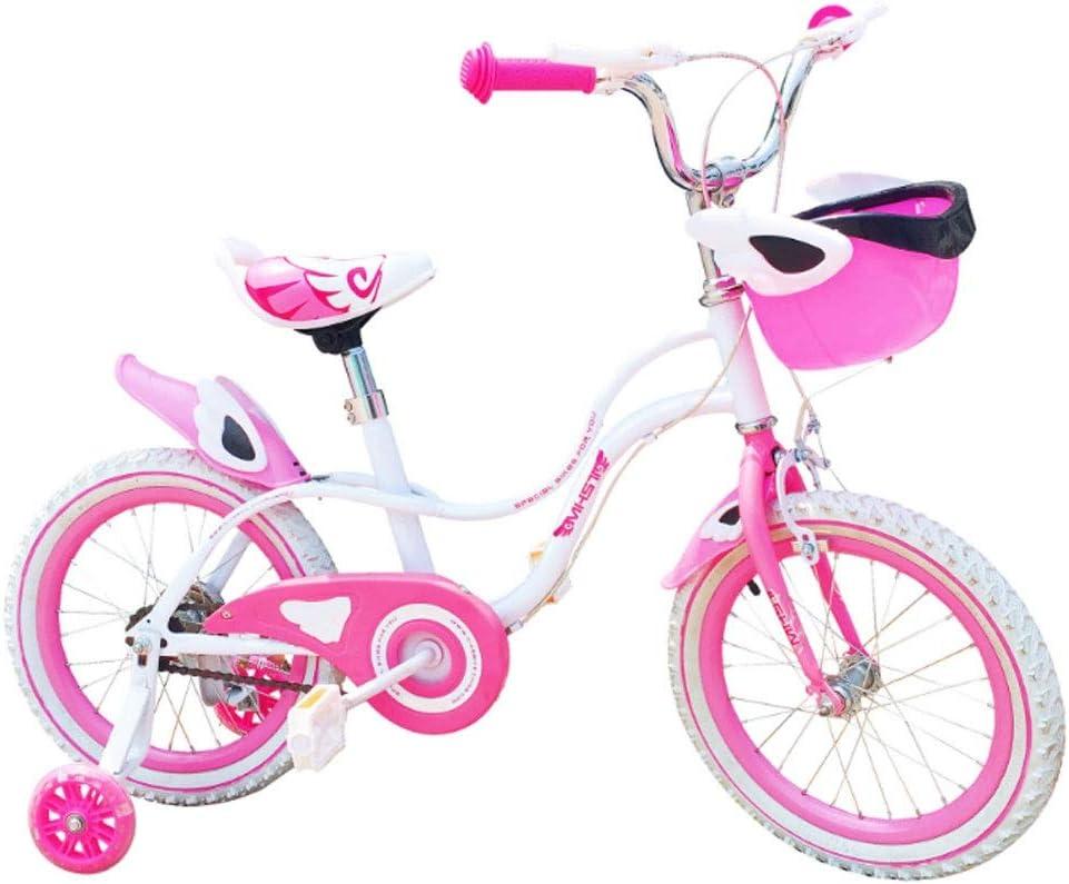 M-YN Bicicleta Niños con Ruedines Bicicletas niños de los niños ...