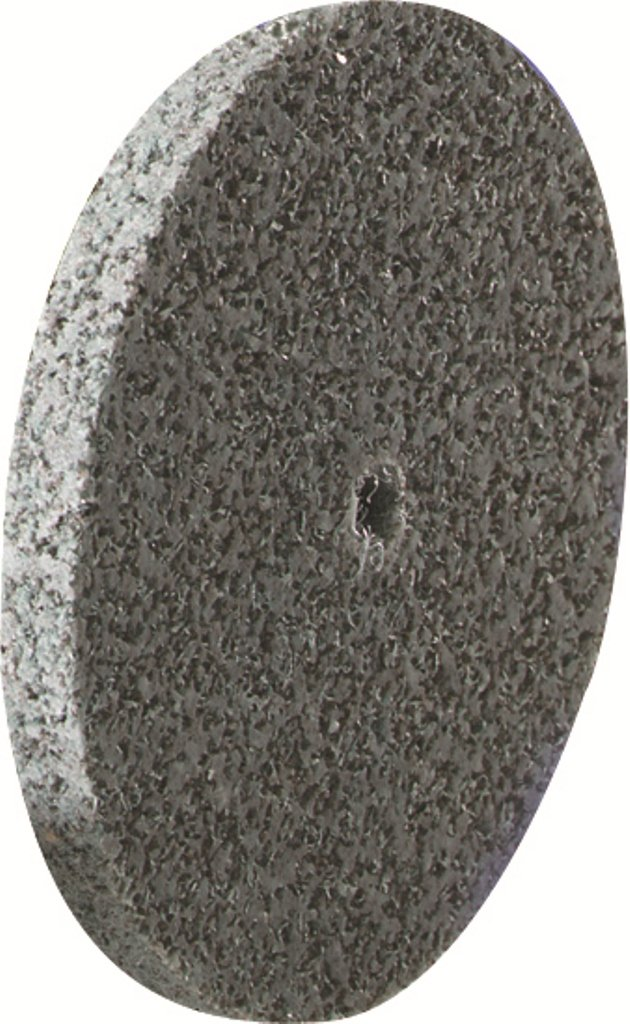 United Abrasives-SAIT 77845 3 by 1/4 by 1/4 532 Silicon Carbide Soft Density Unitized Wheel, 10-Pack