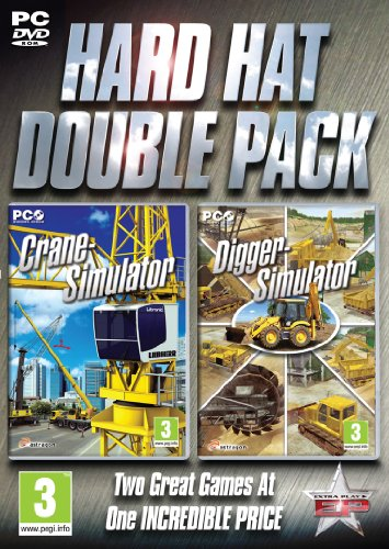 - Hard Hat Double Pack - Crane and Digger Simulation (PC DVD) (UK IMPORT)