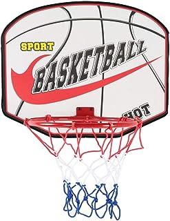 Alomejor Mini Canestro da Basket per Bambini con Palla e Pompa Gadget di Pallacanestro Gioco Gadget per l'educazione dei Bambini Interno
