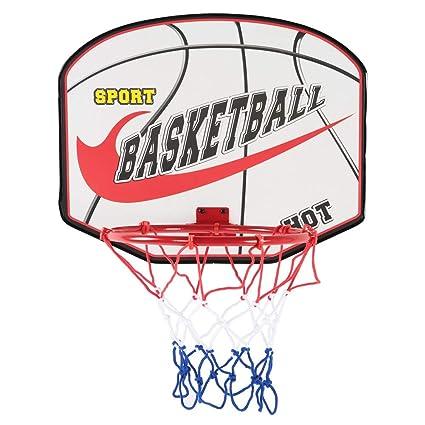Alomejor Juguete de aro de Baloncesto con Pelota y Bomba Juego de ...