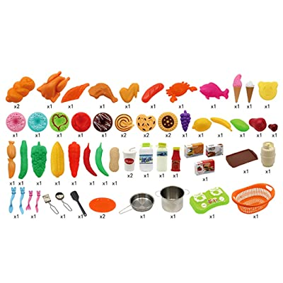 Pas Cher Phynedi 60 Pieces Jeu Imitation Cuisine Enfant Ensemble D