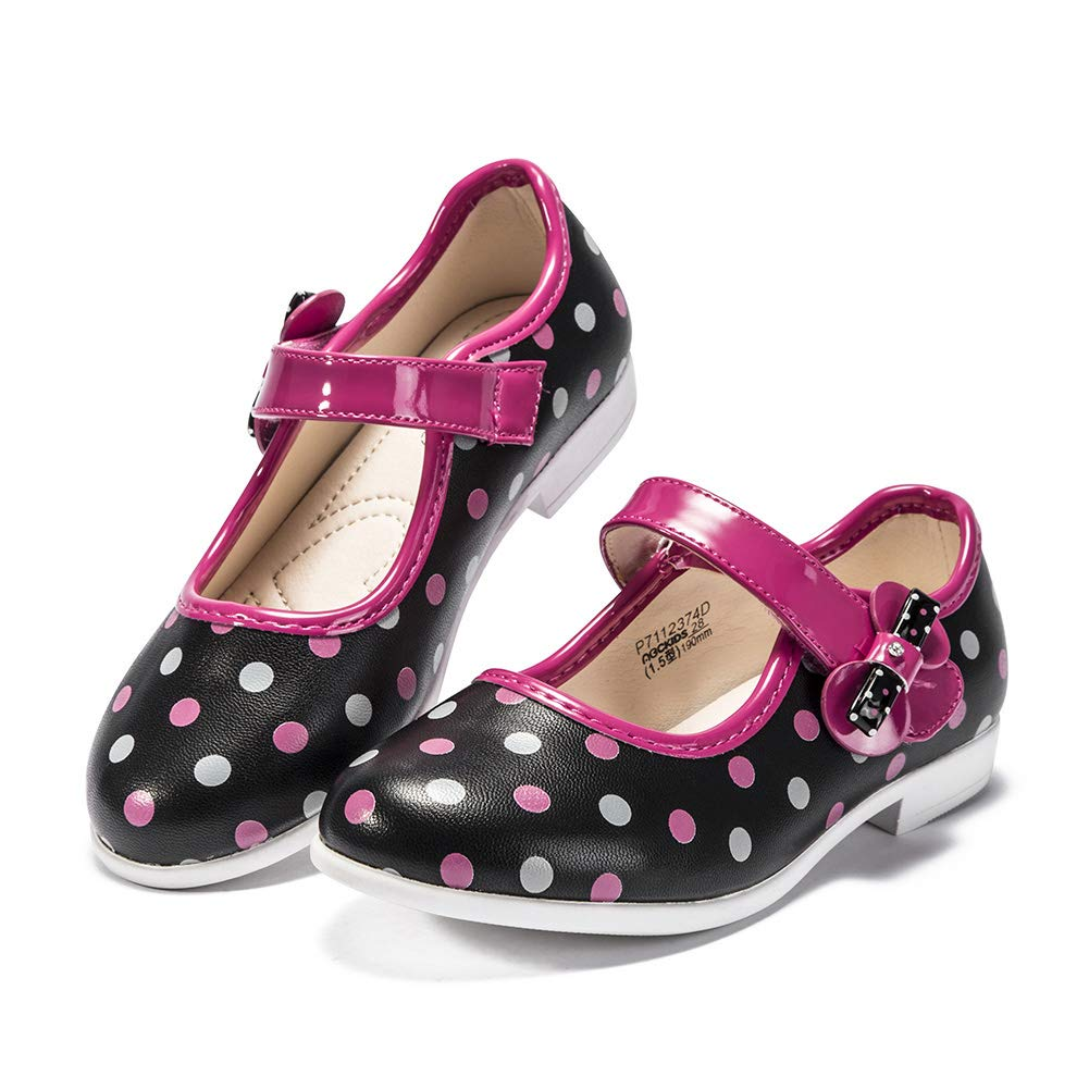 ABC KIDS Leather Flat Shoes Girls Sneakers Lightweight Breathable Walking Casual Shoes