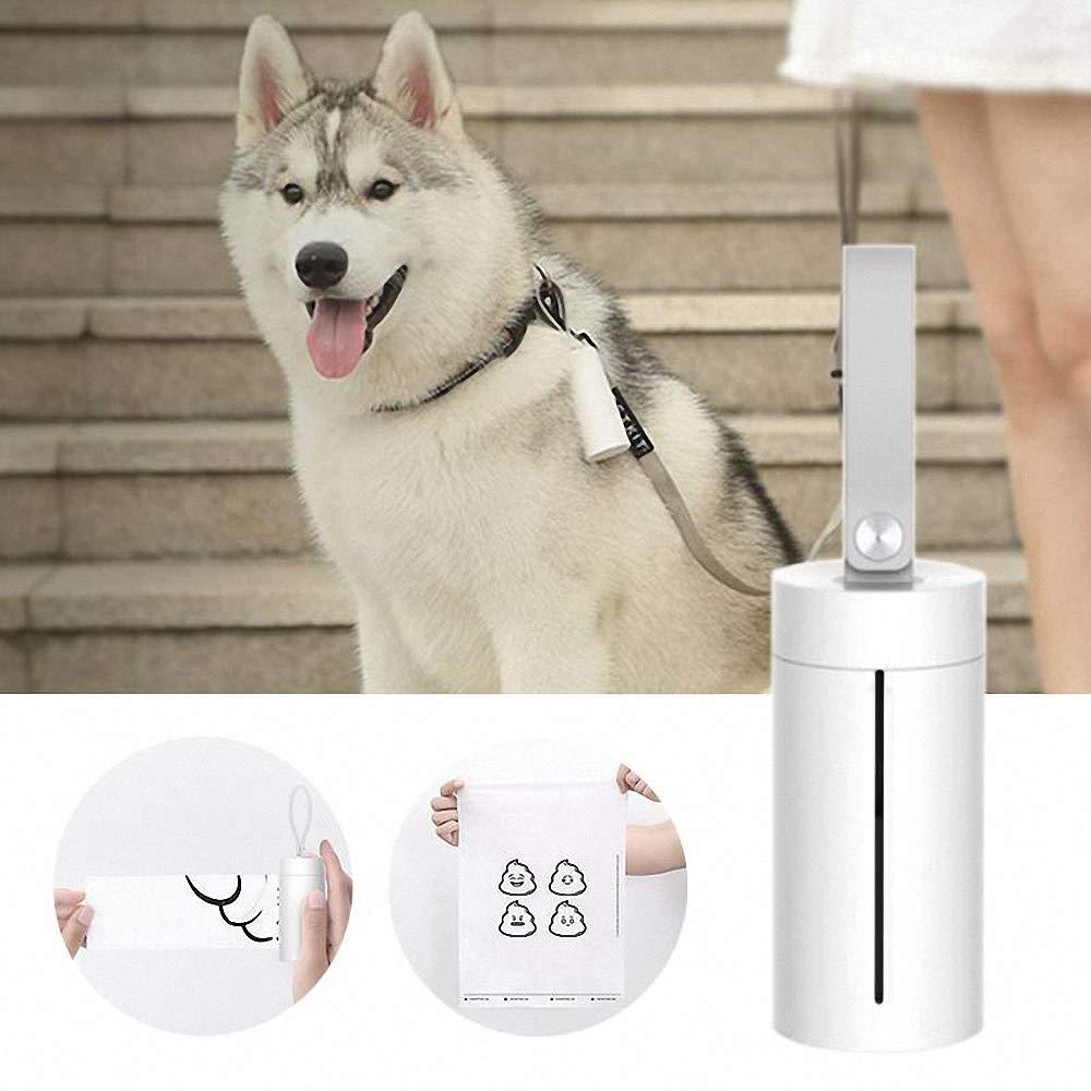 Garbage Case Dispenser Carrier Holder Waste Bag Box Pet Dog with Poop Bags
