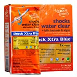 Aqua Chem 12100AQU-36 36-Pack Shock Xtra Blue for Swimming Pools, 1-Pound