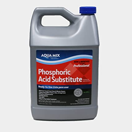Aqua Mix Phosphoric Acid Cleaner Substitute Acid Tile Cleaners