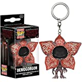 Demogorgon [Open Face]: Funko Pocket POP! x Stranger Things Mini-Figural Keychain + 1 FREE American TV Themed Trading Card Bundle (14228)