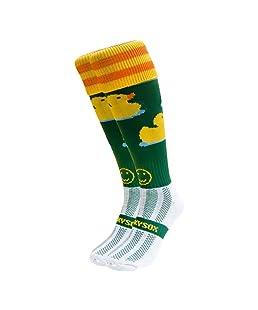 WackySox Mighty Ducks Sports Socks Adult Shoe Size 7-11