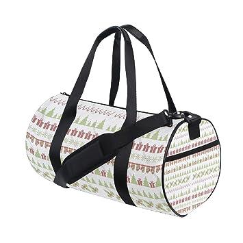 5bd6dbf3cf3e Amazon.com | Ceramic Christmas Cree Gift Popular casual fitness bag ...