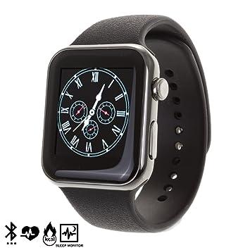 Silica DMR088BLACK - Smartwatch a9, Color Negro: Amazon.es ...