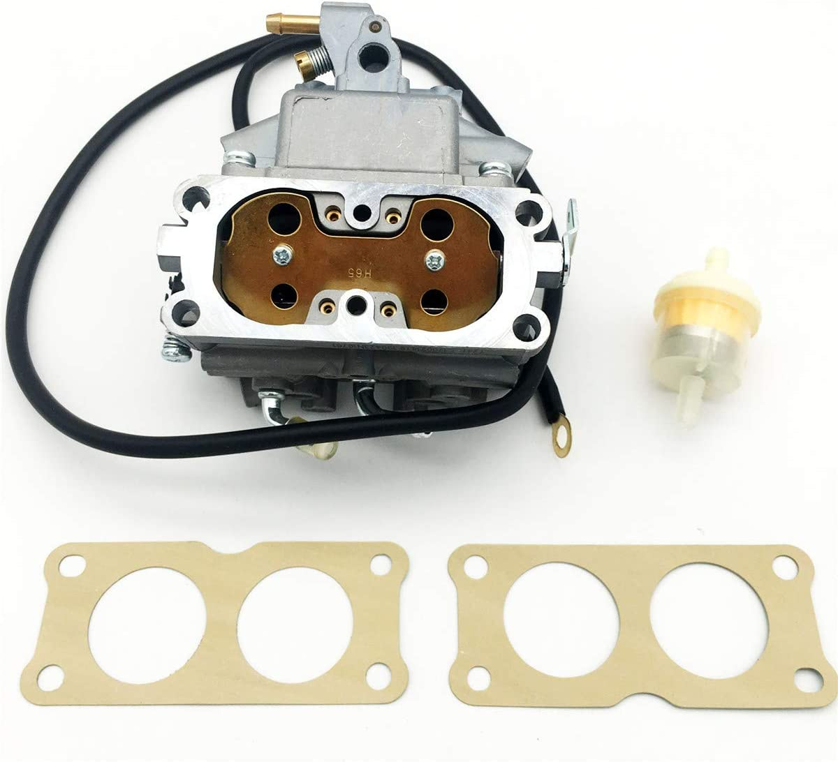 spartshome New Carburetor Replacement for Honda GX670 24 hp GX 670 V Twin 24hp 16100-ZN1-802 Engine Kit