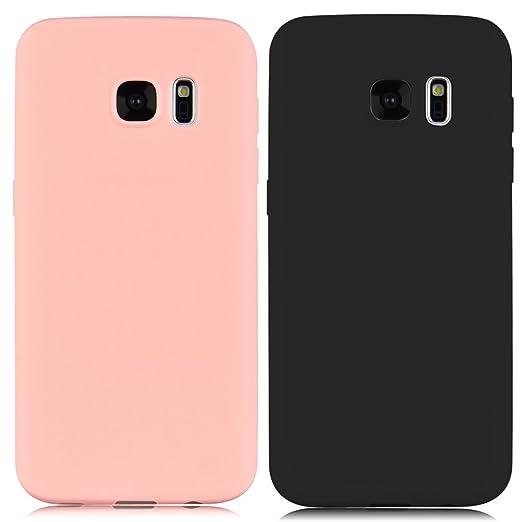 29 opinioni per 2x Custodia Samsung Galaxy S7, Yokata Gel Silicone TPU Morbido Cover Elegant