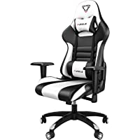 【New Update】 Furgle Gaming Chair Racing Style High-Back Office Chair with Adjustable Armrests PU Leather Executive…