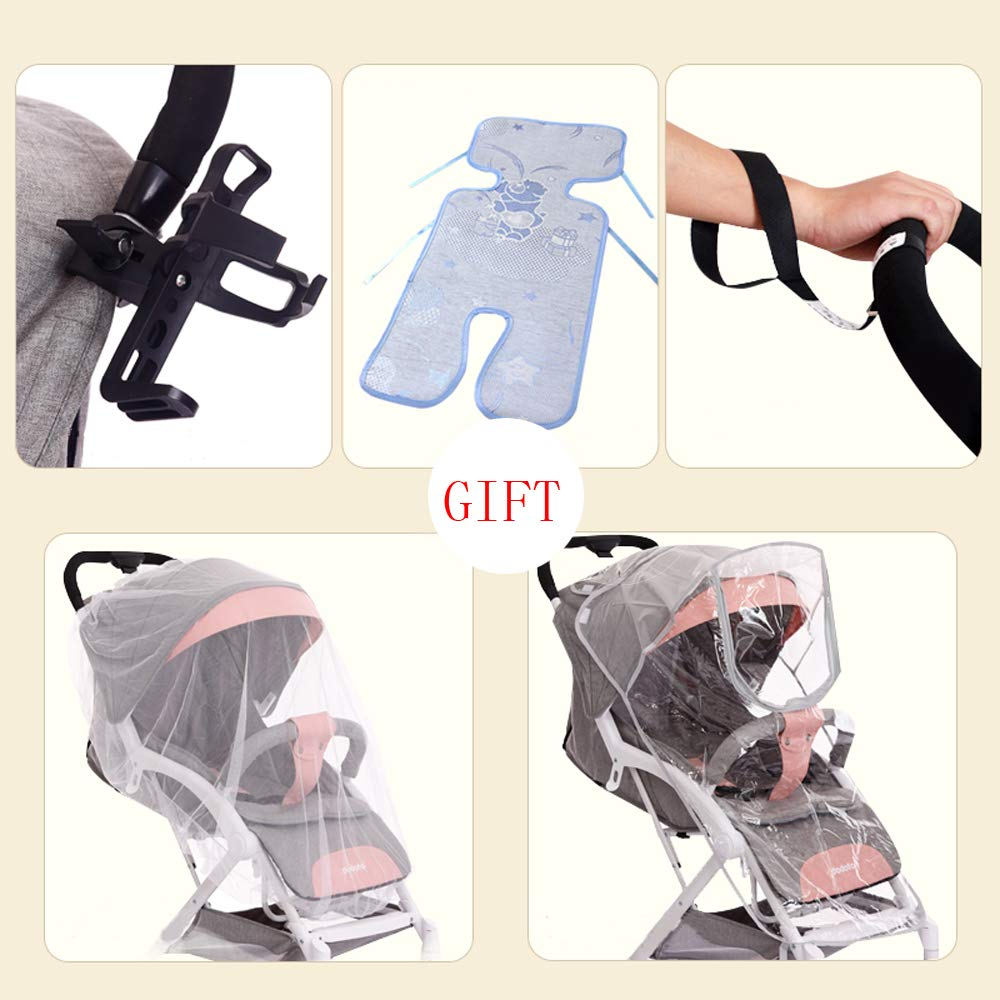Amazon.com: Cochecito de bebé ultraligero portátil con ...