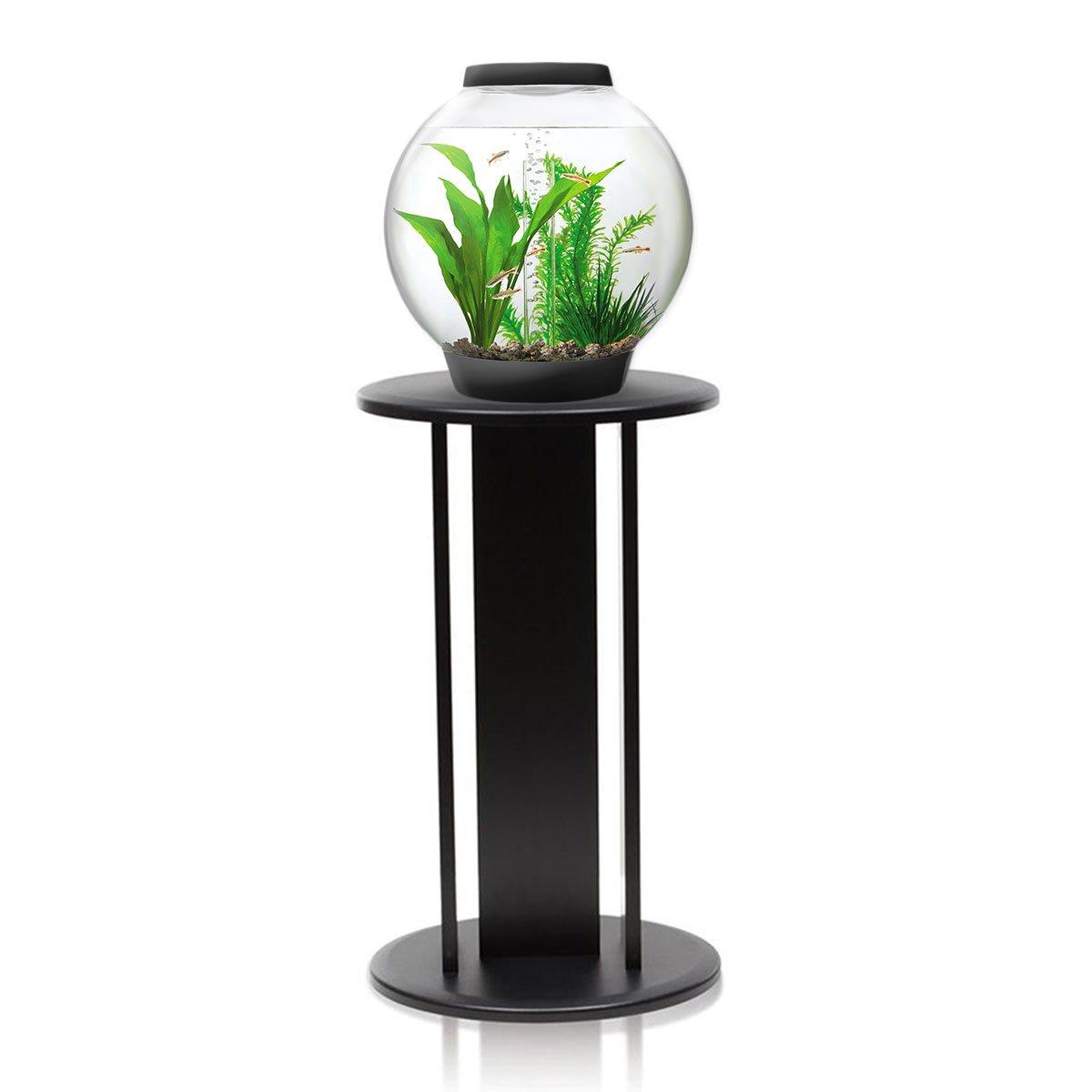 BiOrb Baby 15L Aquarium in Black with MCR LED Lighting & Black Stand