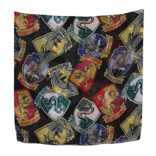 Harry Potter Hogwarts Crests Infinity Scarf