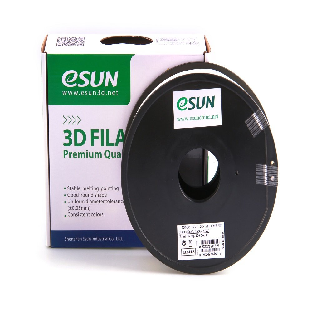 Color printing csun - Amazon Com Esun 3mm Epa Nylon Natural Filament 1kg 2 2lbs Spool Natural Semi Transparent Industrial Scientific