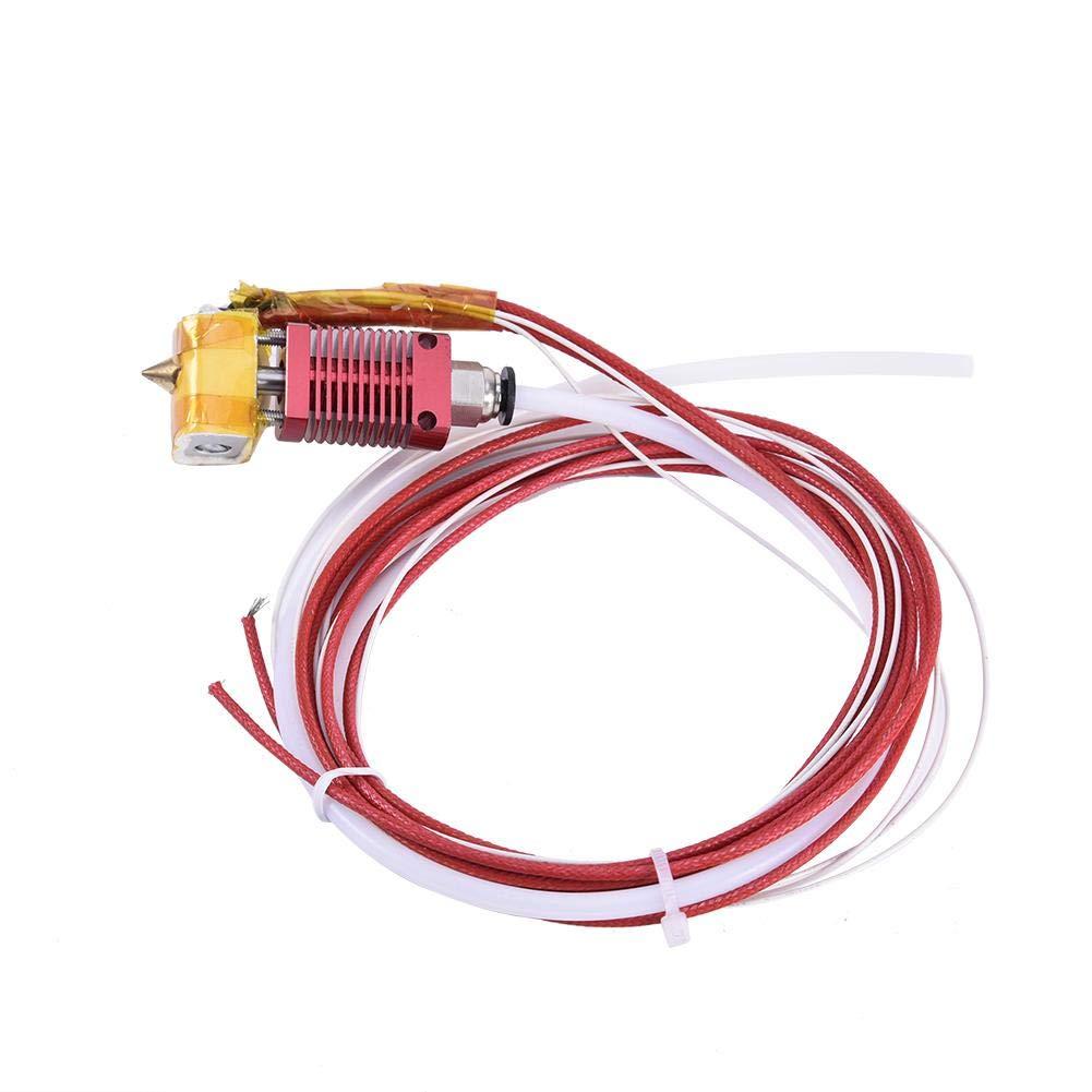 Basisago 3D Printer Accessories Heat Head High Temperature Ed3 Cr10 Extrusion Head Kit Nozzle Nozzle