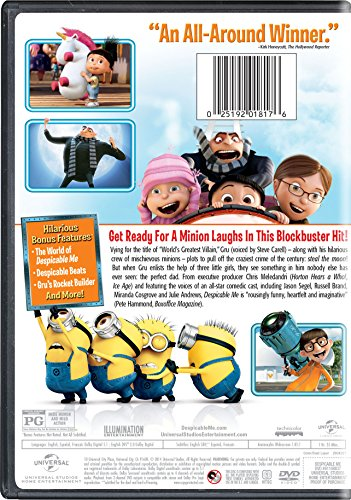 025192018176 - Despicable Me (Single-Disc Edition) carousel main 1