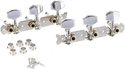 Musiclily Pro 3x3 Clavijas de Afinación Clavijero de Repuesto para ...