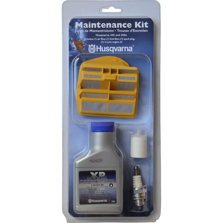 Husqvarna 531309681 Chain Saw Maintenance Kit For 445 and 450 by Husqvarna