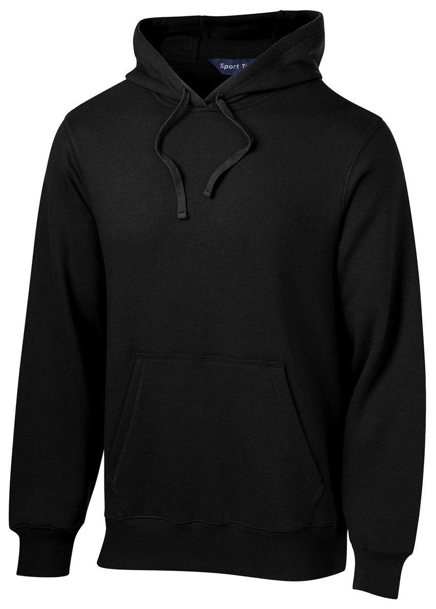 Sport-Tek Tall Pullover Hooded Sweatshirt, Black, X-Large Tall by Sport-Tek