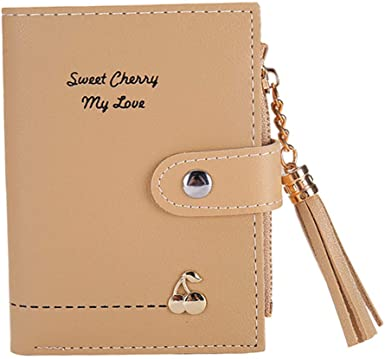 Charm Leather Long Wallet Bifold Card Holders Purse Girls Women Gift Handbag 1PC
