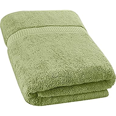 Utopia Towels Soft Cotton Machine Washable Extra Large (35-Inch-by-70-Inch) Bath Towel, Sage Green